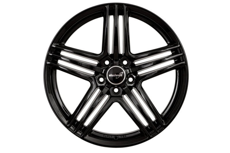 Wheelworld WH12 Black glossy painted