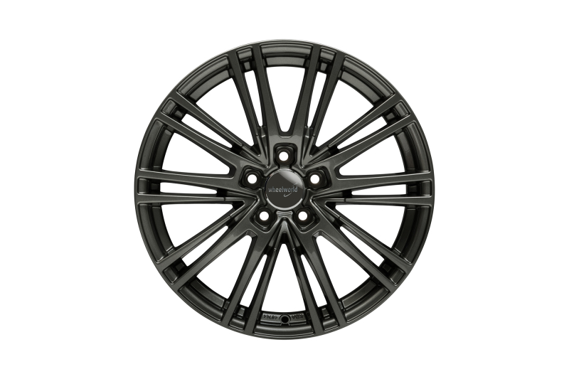 Wheelworld WH18 Dark gunmetal full painted
