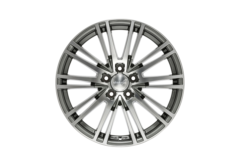 Wheelworld WH18 Daytona grey full machined