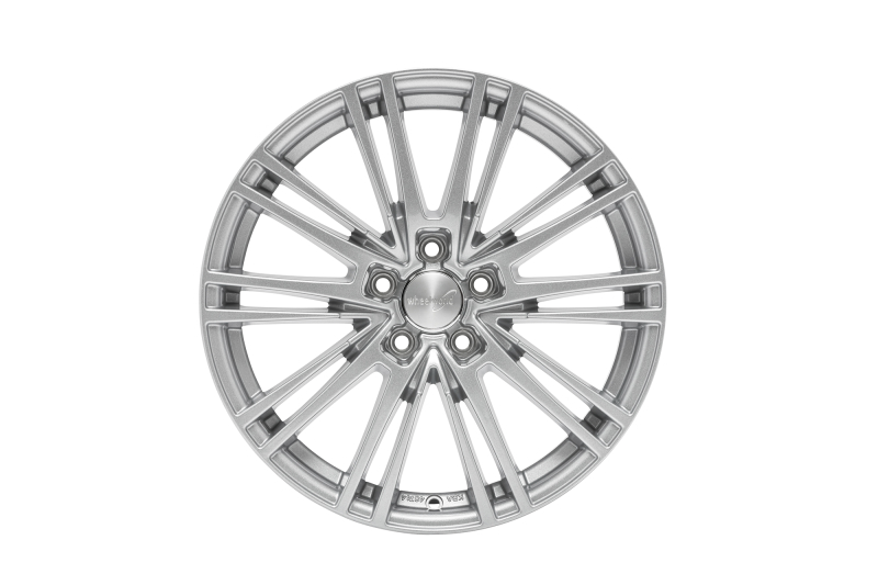 Wheelworld WH18 Race silver painted