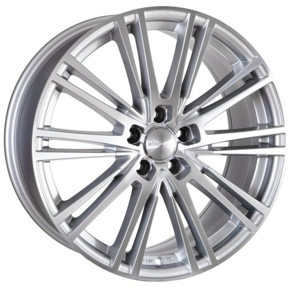 Wheelworld WH18 silver full machined