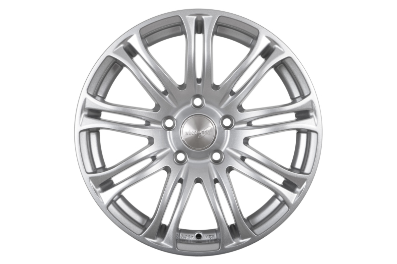 Wheelworld WH23 Race silver painted