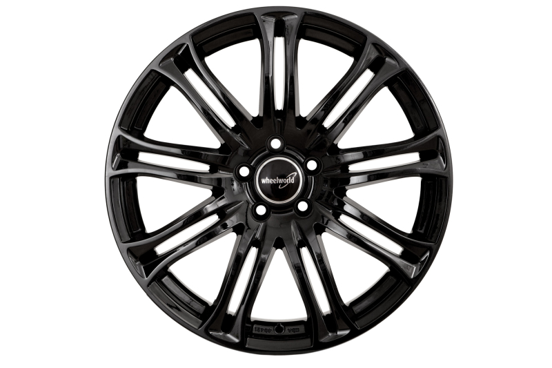 Wheelworld WH23 Black glossy painted