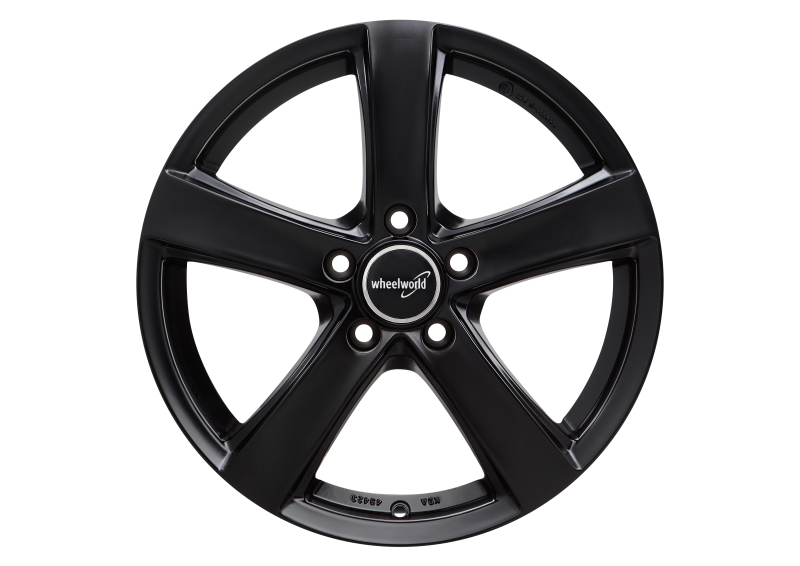 Wheelworld WH24 Black matt painted