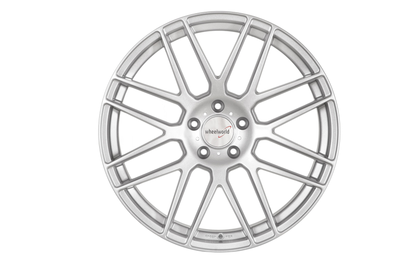 Wheelworld WH26 Race silver painted