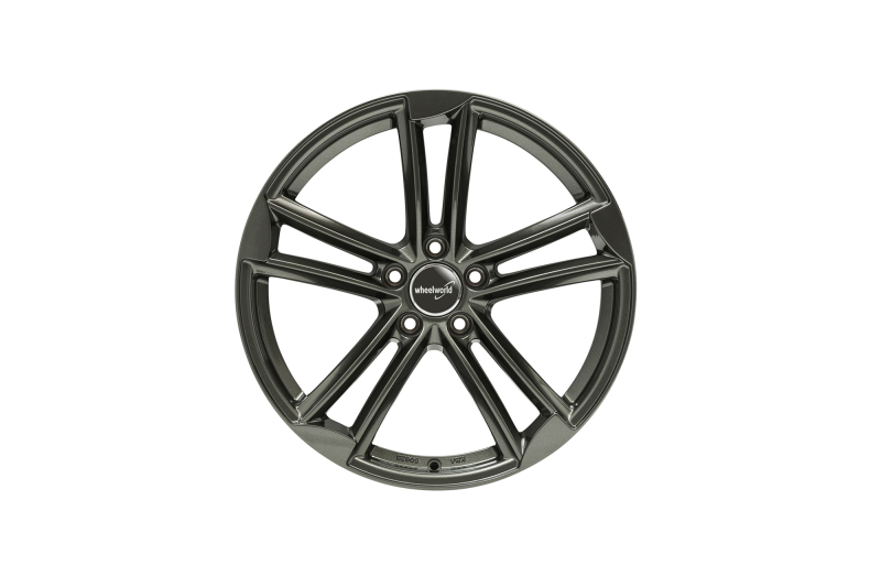 Wheelworld WH27 Dark gunmetal full painted