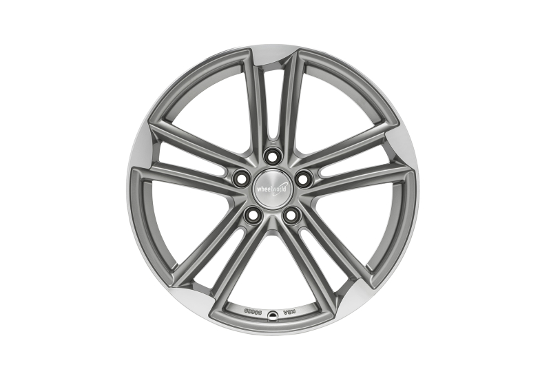 Wheelworld WH27 Daytona grey full machined