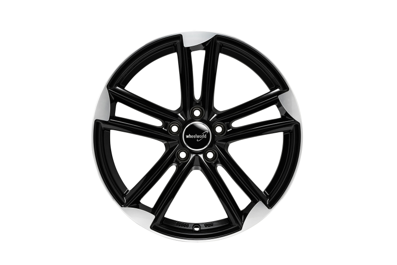 Wheelworld WH27 black full machined