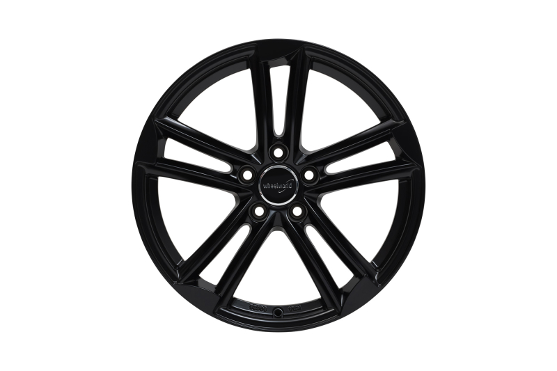 Wheelworld WH27 Black matt painted