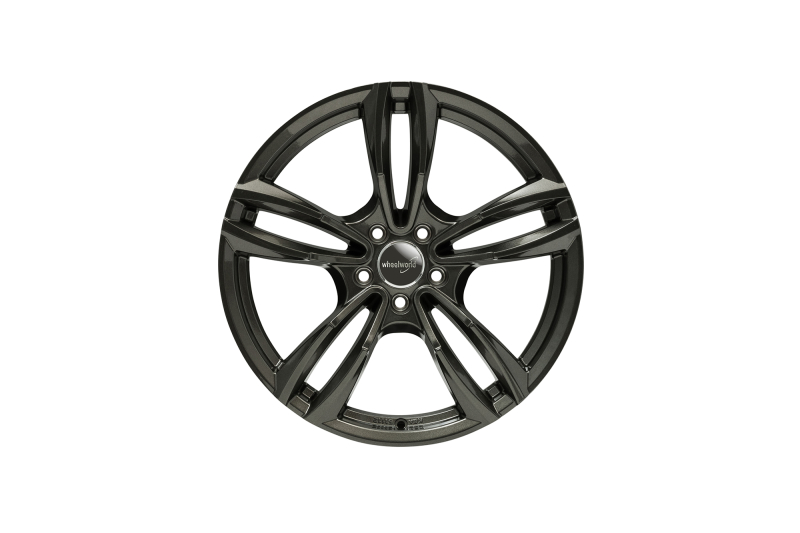 Wheelworld WH29 Dark gunmetal full painted