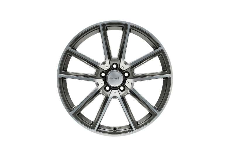 Wheelworld WH30 Daytona grey full machined