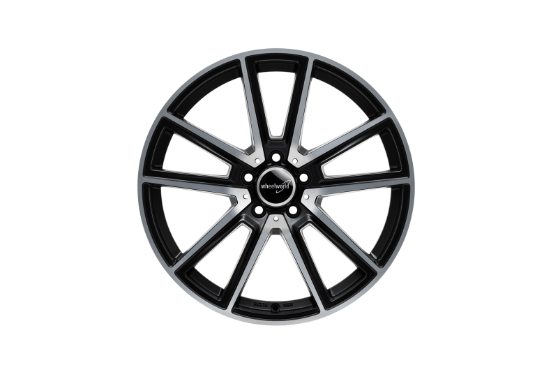 Wheelworld WH30 Black matt full machined