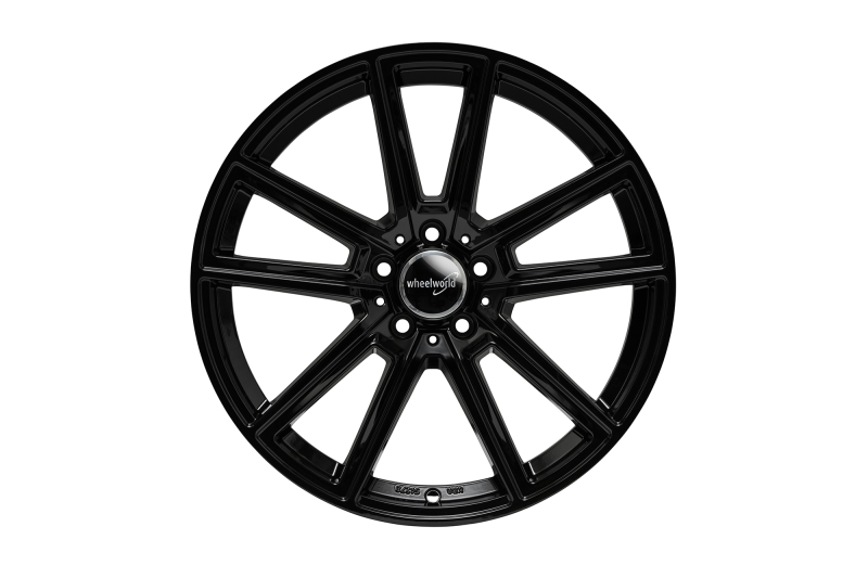 Wheelworld WH30 Black glossy painted