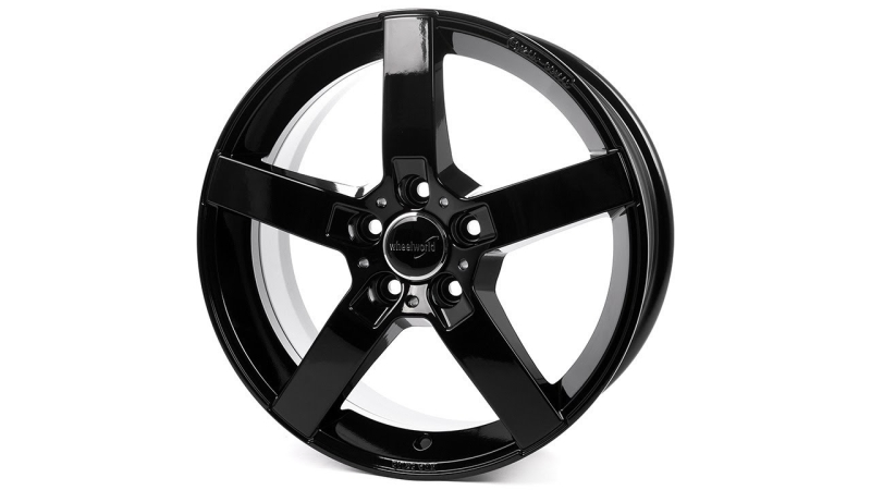 Wheelworld WH31 Black glossy painted