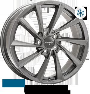 Wheelworld WH32 Daytona grey full painted