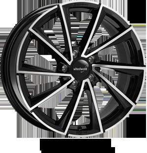 Wheelworld WH32 black full machined
