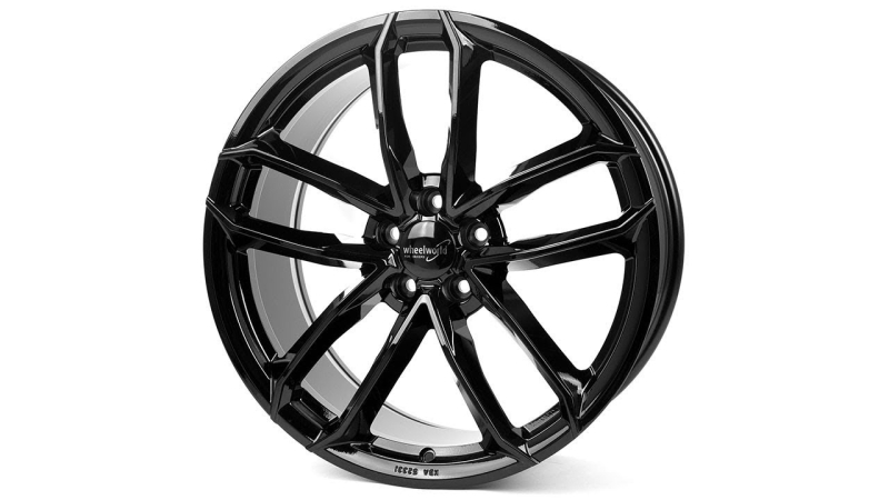 Wheelworld WH33 Black glossy painted